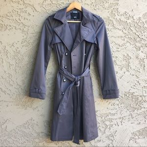 MOSSIMO Trench Coat Raincoat Long Rain Jacket